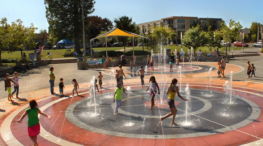 Land Expressions_Gresham Children's Fountain