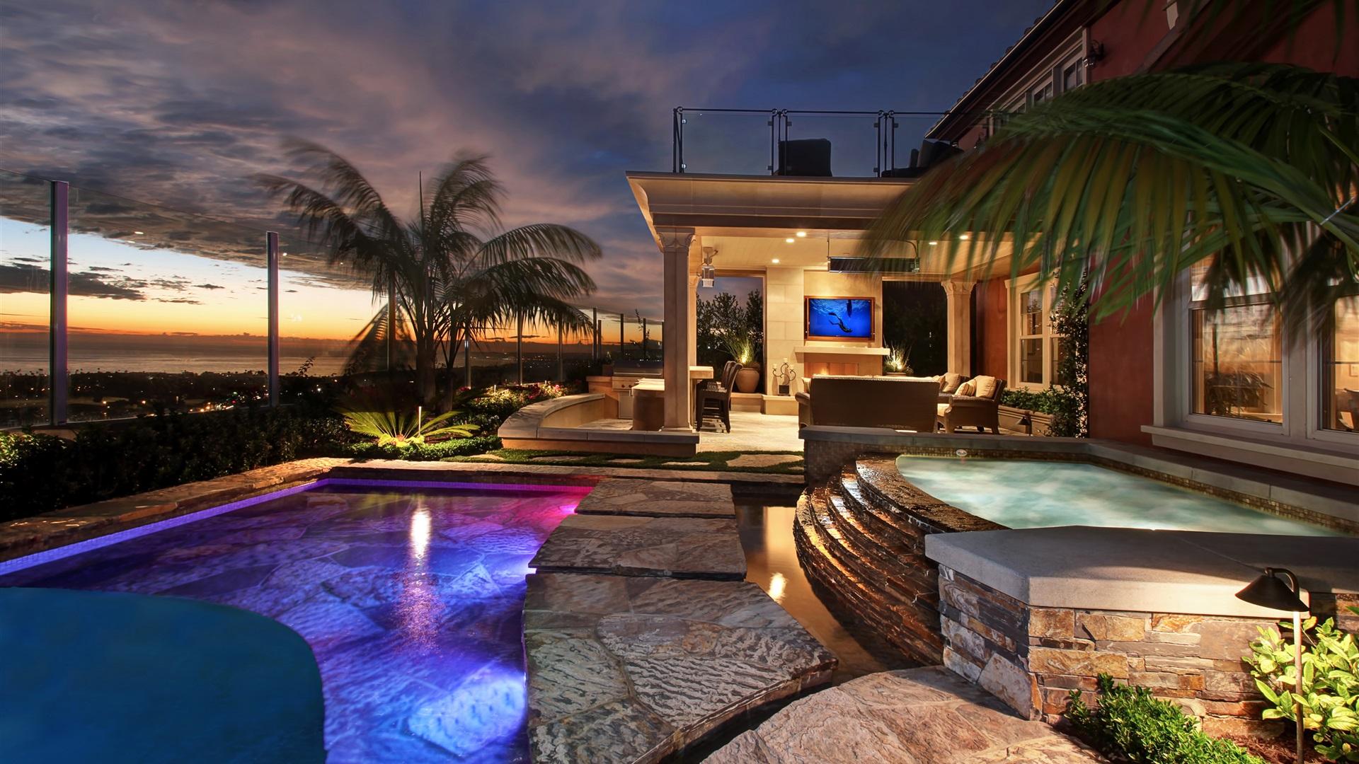San-Clemente-resort-hotel-pool-lights-night-USA_1920x1080